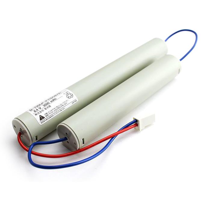 FK649相当品(同等品) ※電池屋製 <FK349/FK879相当品(同等品)> 8.4V2500mAh(3000mAh電池使用)|誘導灯・非常灯電池 | バッテリー | 蓄電池 | 交換電池<年度シール付き>【2月おすすめ】