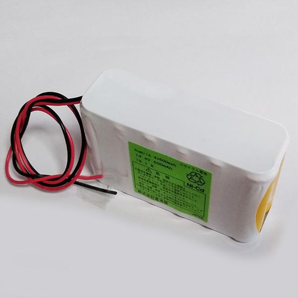 14.4V600mAh W型 ニカド(ニッケルカドミウム Ni-Cd)組電池製作バッテリー リード線のみ【受注品2~3週間】
