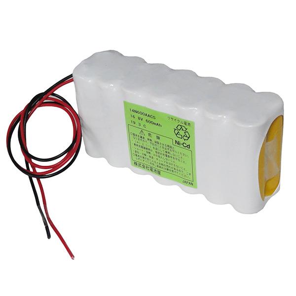 14N-600AAC相当品 SANYO 16.8V600mAh W型 ※組電池製作バッテリー リード線のみ