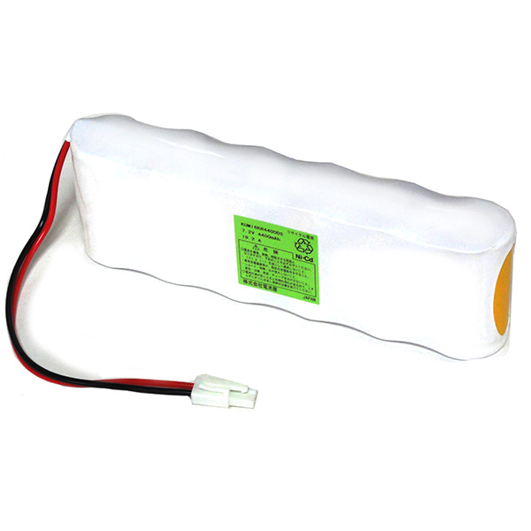 6KR-4400D相当品(6KR-4400DA) 7.2V4400mAh S型 コビシコネクター付き N4500D 組電池製作バッテリー【受注品2~3週間】
