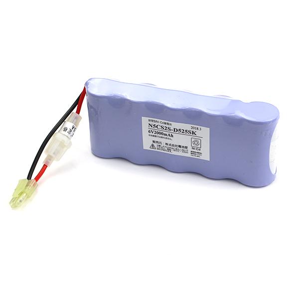 【4月おすすめ】N5-CS2 相当品(同等品)<N5-CS(N5-CSA) 相当品> 6.0V 2000mAh<年度シール付き> | 誘導灯 | 非常灯 | バッテリー | 交換電池 |