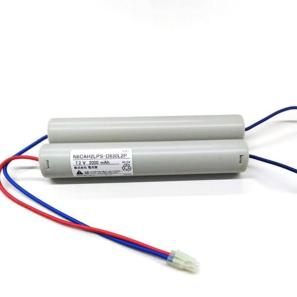 N-6CAH2LP(FSK048)相当品(同等品) | 誘導灯 | 非常灯 | バッテリー | 交換電池 | 防災<年度シール付き>【7月おすすめ】