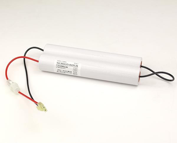 N-6CBH2LP(FSK049)相当品(同等品) | 誘導灯 | 非常灯 | バッテリー | 交換電池 | 防災<年度シール付き>【受注品2~3週間】