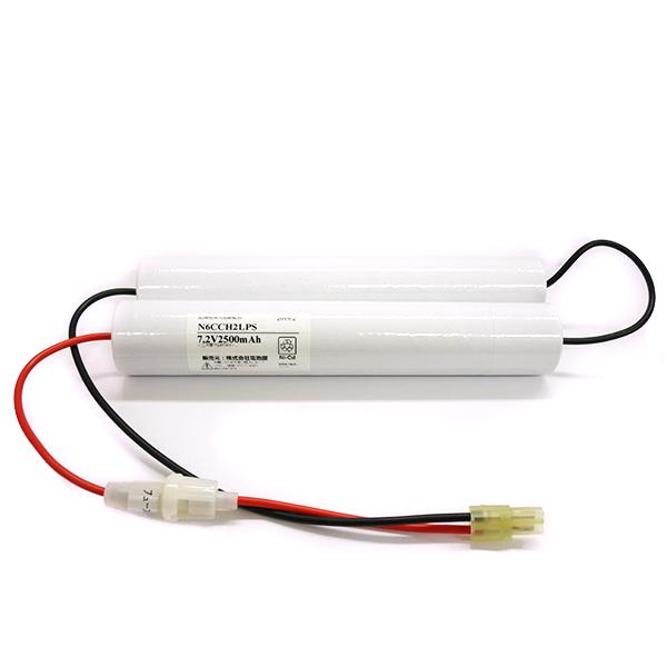 N-6CCH2LP(FSK051)相当品(同等品) | 誘導灯 | 非常灯 | バッテリー | 交換電池 | 防災<年度シール付き>【電池屋の日対象】