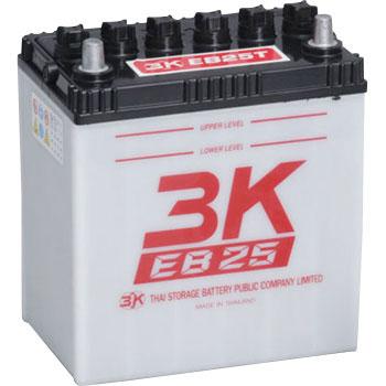 EB25-T 3Kバッテリー製 12V25Ah テーバー端子 ディープサイクルEBバッテリー (GS EB25 TE相当品)
