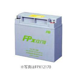 【受注品】【納期:1~1.5ヶ月】FPX12170 12V17Ah 古河電池製 小型制御弁鉛蓄電池 FPXシリーズ【代引不可】【キャンセル返品不可】【時間指定不可】