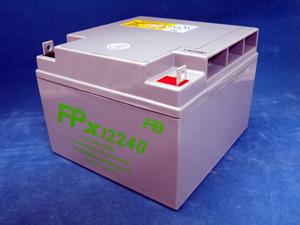【納期未定】FPX12240 12V24.0Ah 古河電池製 小型制御弁鉛蓄電池 FPXシリーズ【キャンセル返品不可】