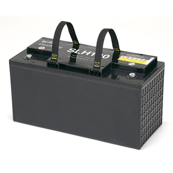 【受注品】SLH100 GSユアサ SLHシリーズ 小型電動車用制御弁式鉛蓄電池 12V100Ah<SEB100後継>【代引不可】【キャンセル返品不可】【時間指定不可】