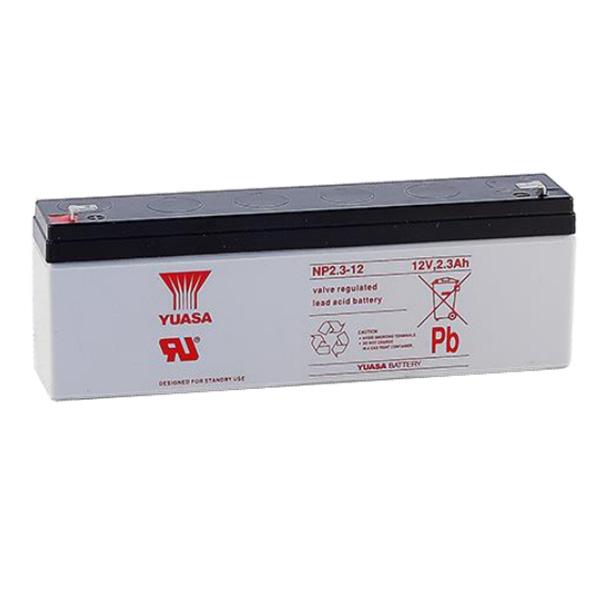TNP2.3-12 台湾ユアサ製 小形制御弁式鉛蓄電池 DC12V 2.3Ah(20時間率)【キャンセル返品不可】