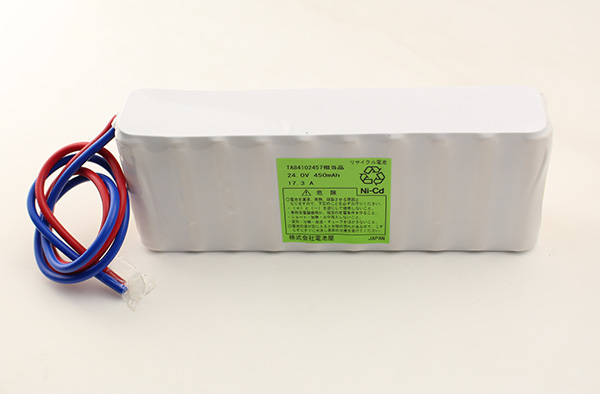 TA84102457 パナソニック相当品 設備時計用バッテリー リード線のみコネクターなし