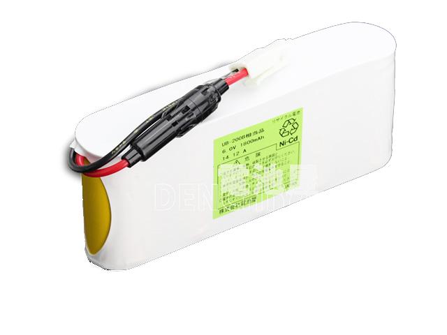 UB-200B相当品(同等品)   誘導灯   非常灯   バッテリー   交換電池   防災<年度シール付き>