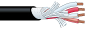 【エントリーでポイント5倍!】4S11 100m カナレ 4心スピーカケーブル