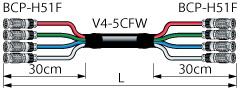 4VS05-5CFWH カナレ BNCケーブル(マルチ)