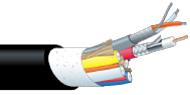 【エントリーでポイント5倍!】A1V5C4-2.5CHD-EM 100m カナレ VESA対応同軸複合ケーブル