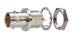 BCJ-R/1 100個 カナレ 75ΩBNC型リセプタクル