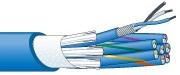 【エントリーでポイント5倍!】DA202F-8P 100m カナレ デジタルオーディオマルチケーブル