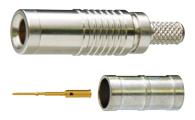 DCP-C4F 100個 カナレ 75ΩDIN1.0/2.3プラグ