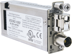 EO3G-100A-51 カナレ 3G-SDI光コンバータ(CWDM用TX)