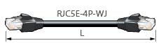 【エントリーでポイント5倍!】ETC70L-M カナレ 移動用LANケーブル