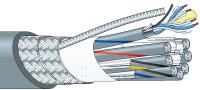 【エントリーでポイント5倍!】L-4E3-12AT-WBS 500m カナレ 電磁シールドマルチケーブル