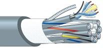 【エントリーでポイント5倍!】L-4E3-4AT 500m カナレ 電磁シールドマルチケーブル