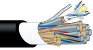 【エントリーでポイント5倍!】L-4E4-4P 50m カナレ 電磁シールドマルチケーブル