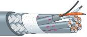 【エントリーでポイント5倍!】MS203-2BS 500m カナレ 2心シールドマルチケーブル