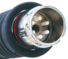 OM6S015-PR カナレ 光6心リセプタクル