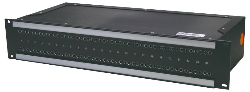 RS-422-1U-16 カナレ RS422パッチ盤