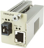TRM-210A-49 カナレ 100BASE-TX光コンバータ
