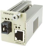 TRM-210A-61 カナレ 100BASE-TX光コンバータ