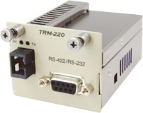 TRM-220A-59 カナレ RS422/RS232光コンバータ