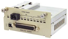 TRM-540A-47 カナレ アナログオーディオ光コンバータ