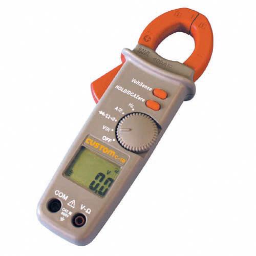 C-10 カスタム 交流/直流・電流/電圧、ダイオード・抵抗・導通が測定可能なAC/DCクランプテスタ