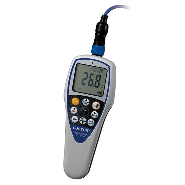 CT-5200WP カスタム 水周りで安心のIP67準拠のK熱電対タイプ温度計