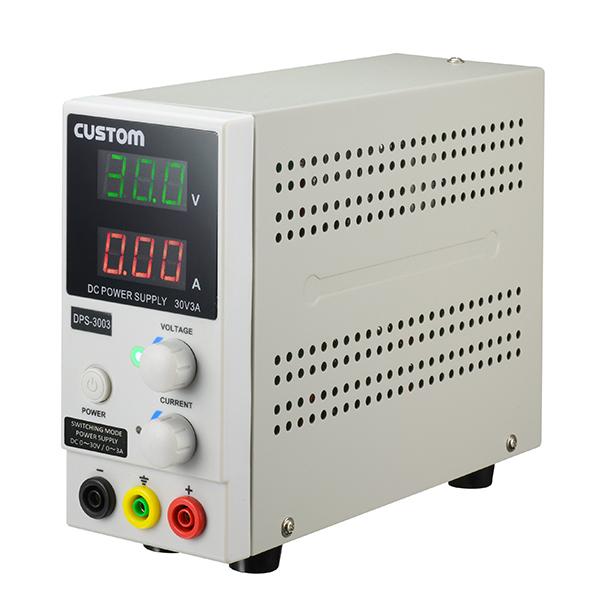 DPS-3003 カスタム デジタル式直流安定化電源 スリムボディ 0~30V・0~3A