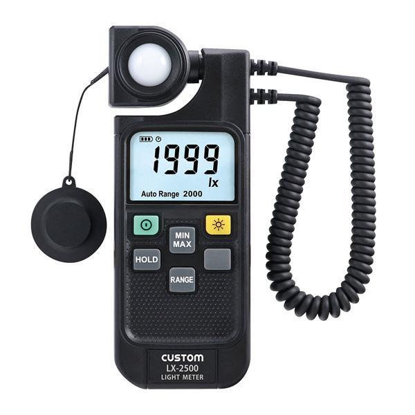 LX-2500 カスタム 離れた場所の測定に便利。デジタル照度計