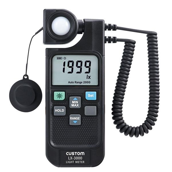 LX-3000 カスタム LED/蛍光灯測定モード付 デジタル照度計