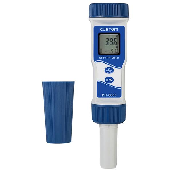 PH-6600 カスタム センサー交換が可能な防水型pH計