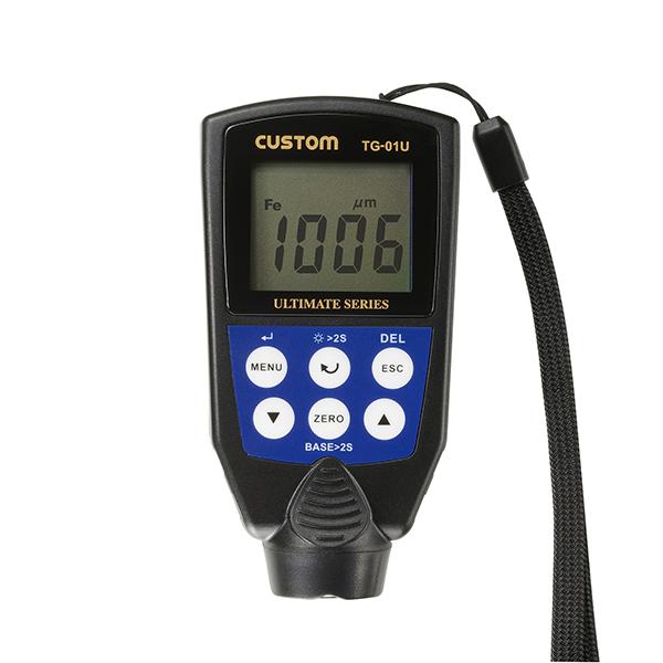 TG-01U カスタム 鉄素地の測定が可能なハンディサイズ膜厚計