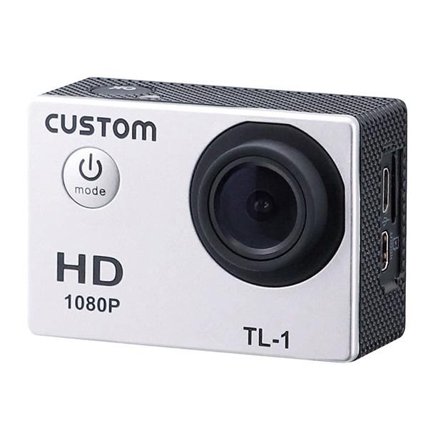 TL-1 カスタム ウェアラブルカメラ&タイムラプスカメラ機能搭載!ウェアラブルカメラ
