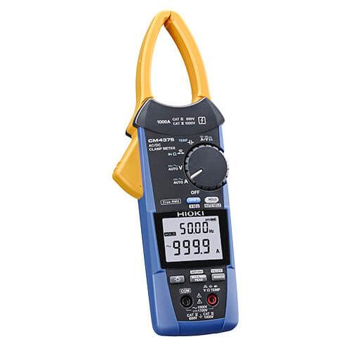 【5月おすすめ】CM4375 日置電機 従来のクランプテスタで測れなかった場所が測れる AC/DCクランプメータ