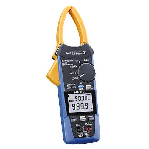 【5月おすすめ】CM4376 日置電機 従来のクランプテスタで測れなかった場所が測れる AC/DCクランプメータBluetooth対応モデル