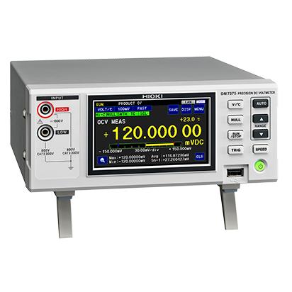 DM7275-02 日置電機 HIOKI 高精度デジタルマルチメータ級 7-1/2桁 直流電圧計 GP-IB付