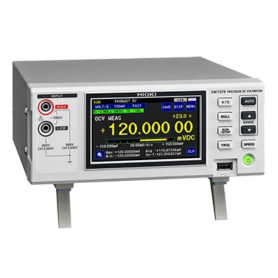 DM7276-01 日置電機 HIOKI 高精度デジタルマルチメータ級 7-1/2桁 直流電圧計