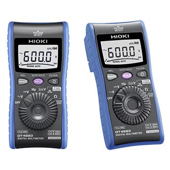 DT4223 日置電機 HIOKI 電工現場向けポケットテスター 世界初の電圧入力保護機能付き安全テスター デジタルマルチメータ