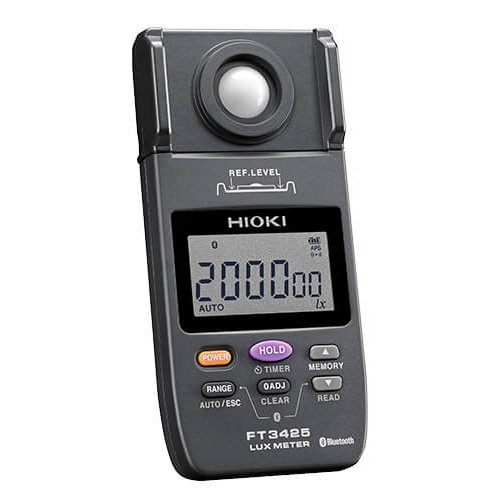 【4月おすすめ】FT3425 日置電機 高信頼性の照度計シリーズ JIS AA級準拠 型式承認取得 LED照明対応 Bluetooth対応モデル