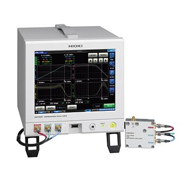 IM7581-01 日置電機 HIOKI 測定周波数:100kHz - 300MHz 周波数やレベル掃引するインピーダンスアナライザ 接続ケーブル1m付属