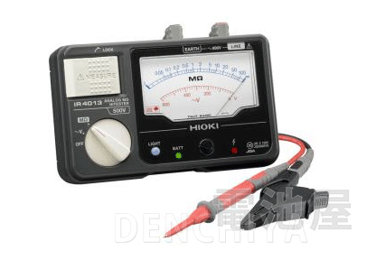 IR4013-10 日置電機 アナログメグオームハイテスタ HIOKI スイッチなしリード付属 <特価品>