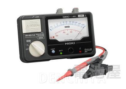 IR4014-10 日置電機 アナログメグオームハイテスタ HIOKI スイッチなしリード付属 <特価品>